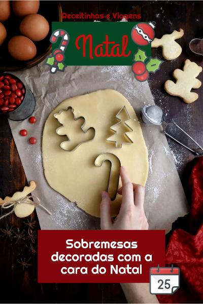 Como decorar as comidas de Natal