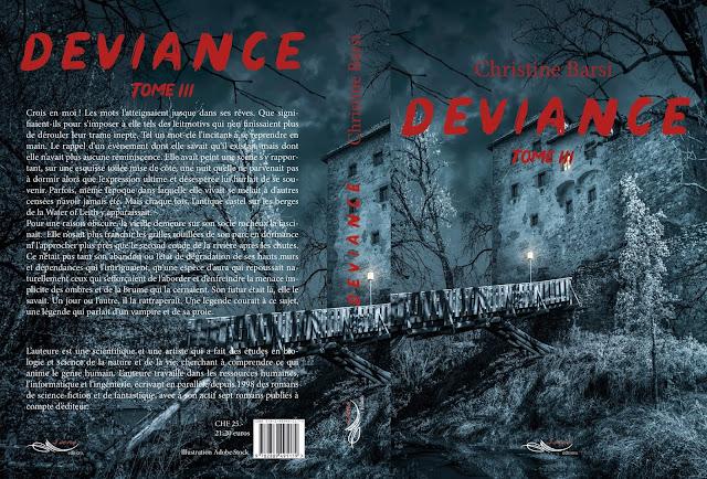 Déviance III, par l'auteure Christine Barsi