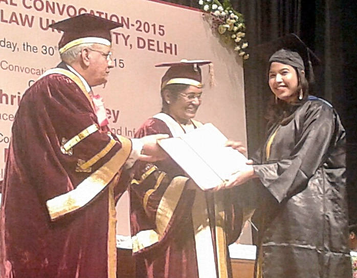 3rd ANNUAL CONVOCATION OF NATIONAL LAW UNIVERSITY DELHI HELD