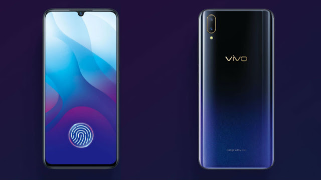 Vivo V11i main, in display finger scanner
