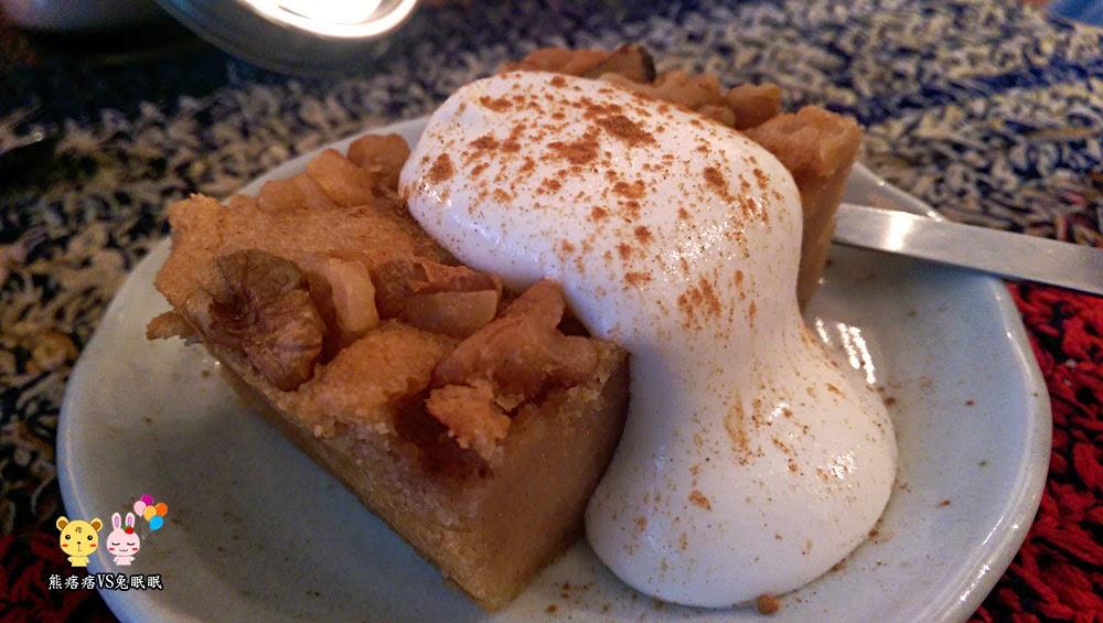 蘋果炒焦糖可布朗蛋糕