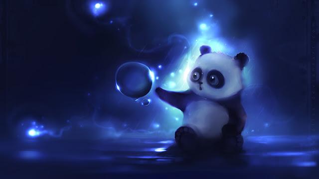 Panda Magic Wallpaper Engine