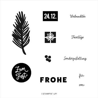 Stempelset Zum Fest Stampin Up