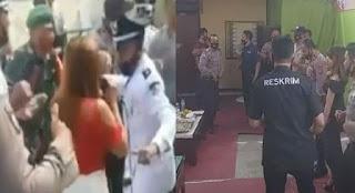 "Dianggap Melecehkan Institusi Polri, Aparat Buru Perekam Video ""Polisi Dangdutan"""