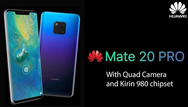 Spesifikasi dan Harga Smartphone Huawei Mate 20 Pro Terbaru