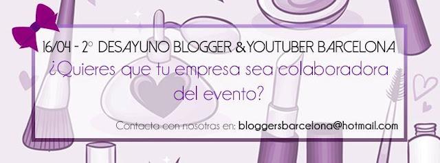 Segundo desayuno bloggers y youtubers Barcelona