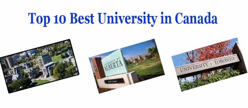 Top 10 Best University in Canada