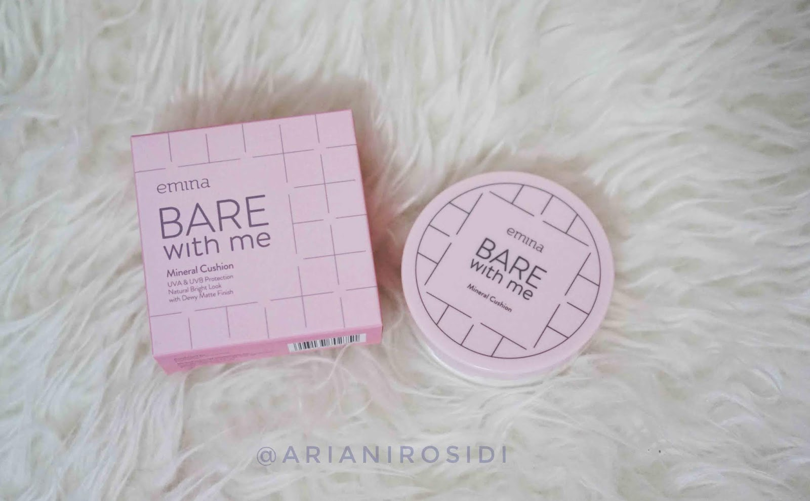 EMINA BARE WITH ME  MINERAL CUSHION REVIEW