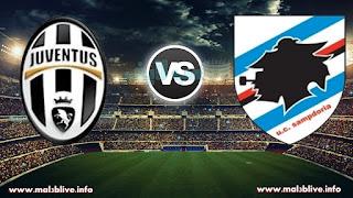مشاهدة مباراة سامبدوريا و اليوفنتوس sampdoria-vs-juventus في الدوري الايطالي بث مباشر اليوم