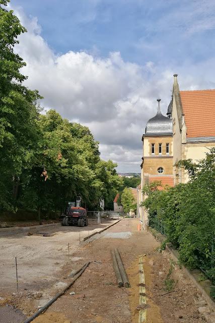 Baustelle Steinsgraben Zeitz