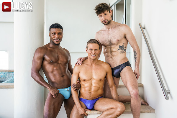 #LucasEntertainment - ANDRE DONOVAN AND ETHAN CHASE DOUBLE PENETRATE DREW DIXON