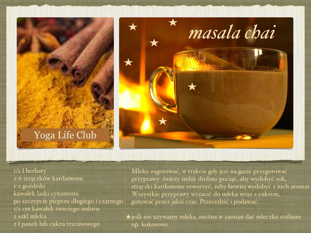 Masala chi - rozgrzewający napój na zimowe dni