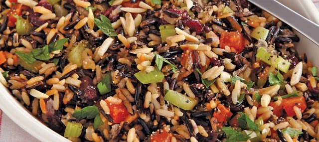 How to Make Wild Rice Dressing Dried Fruit and Nut
