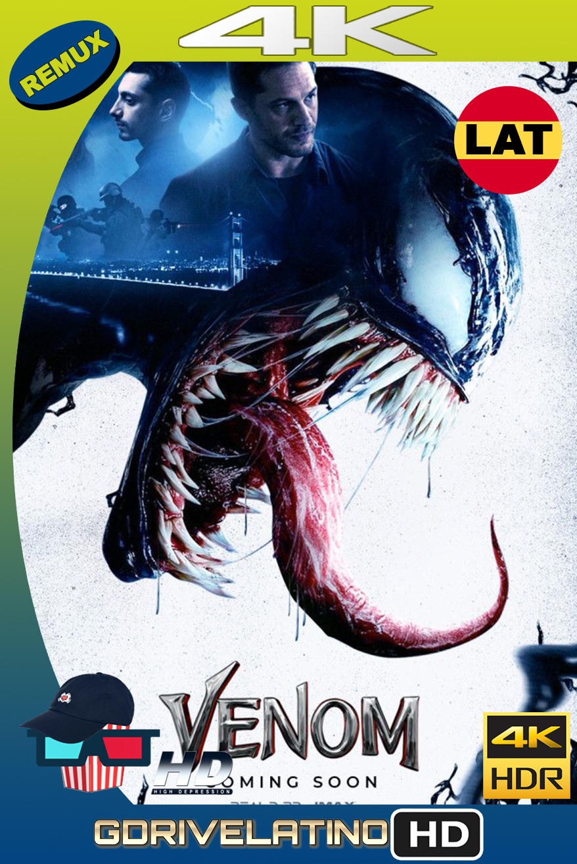Venom (2018) BDRemux 4K HDR Latino-Ingles MKV