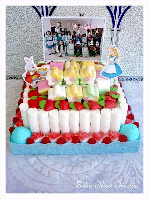 tarta de chuches graduación