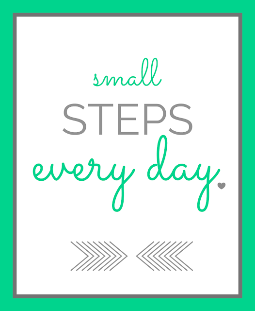 take small steps to change your eating habits free printable
