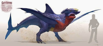 Garchomp-pokemon- pokemon reales- pokemon en la vida real- pokemon origin-
