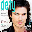Lookers Blog: Ian Somerhalder Covers Defy October 2012