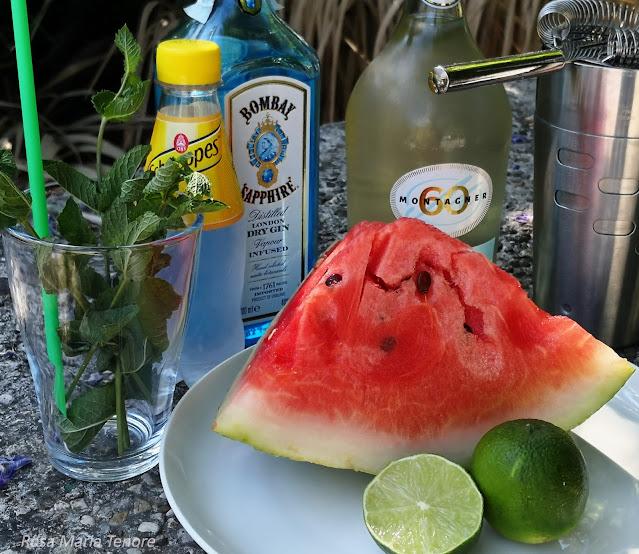 Cocktail all'Anguria