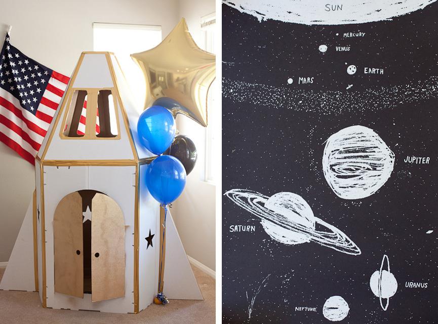 astronaut party theme - 640×474