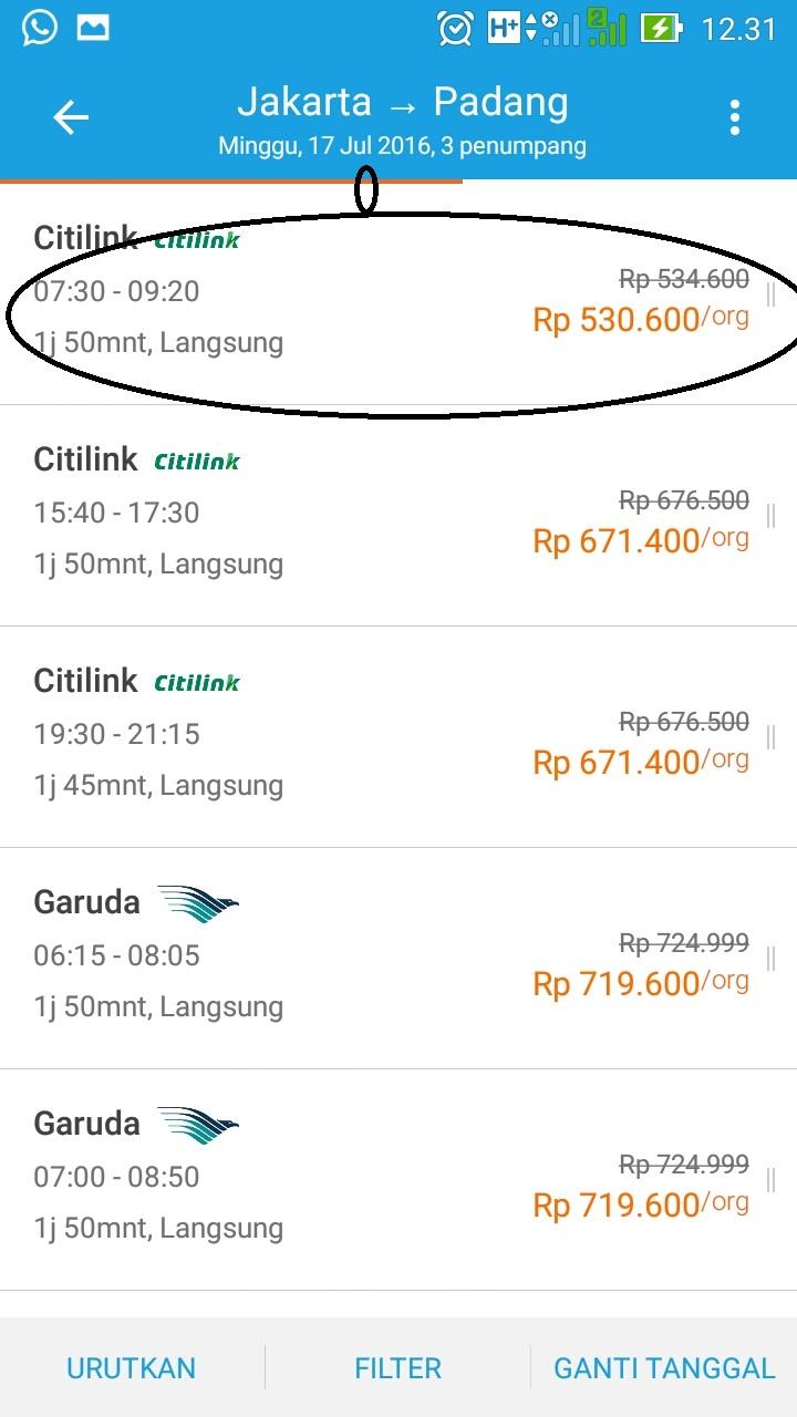 Catatan Sederhana Cek Harga Sebelum Membeli Tiket Pesawat