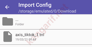 file config opentunnel kuota tiktok axis