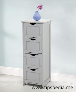 tall slim bathroom cabinet
