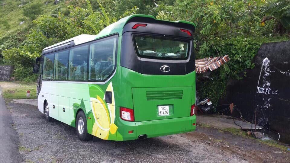 Bán xe khách 29 chỗ Thaco tại Hải Phòng trả góp