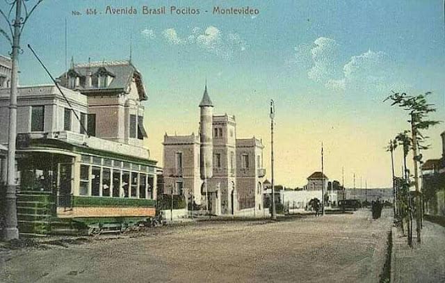 Avenida Brasil en 1912