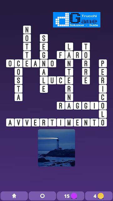 Soluzioni One Clue Crossword livello 10 schemi 8 (Cruciverba illustrato)  | Parole e foto