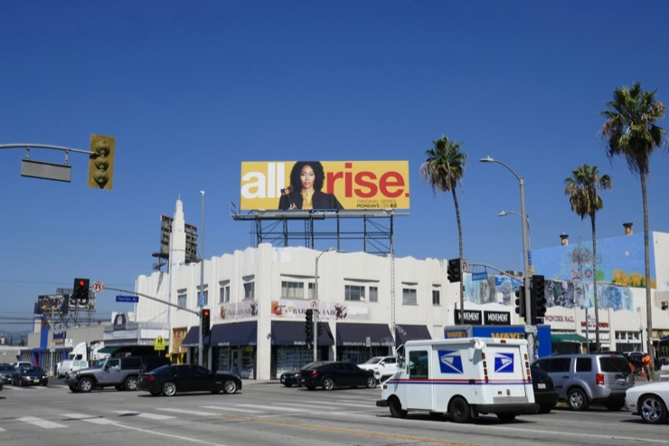 All Rise series billboard