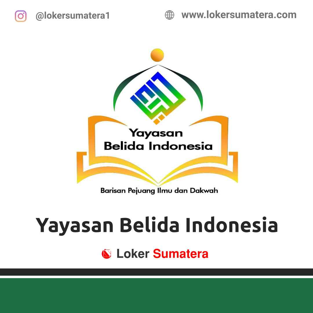 Lowongan Kerja Palembang: Yayasan Belida Indonesia April 2021