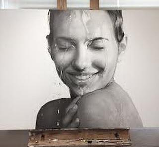 emocionantes-y-delicados-retratos-de-mujeres cuadros-hiperrealistas-retratos-femeninos