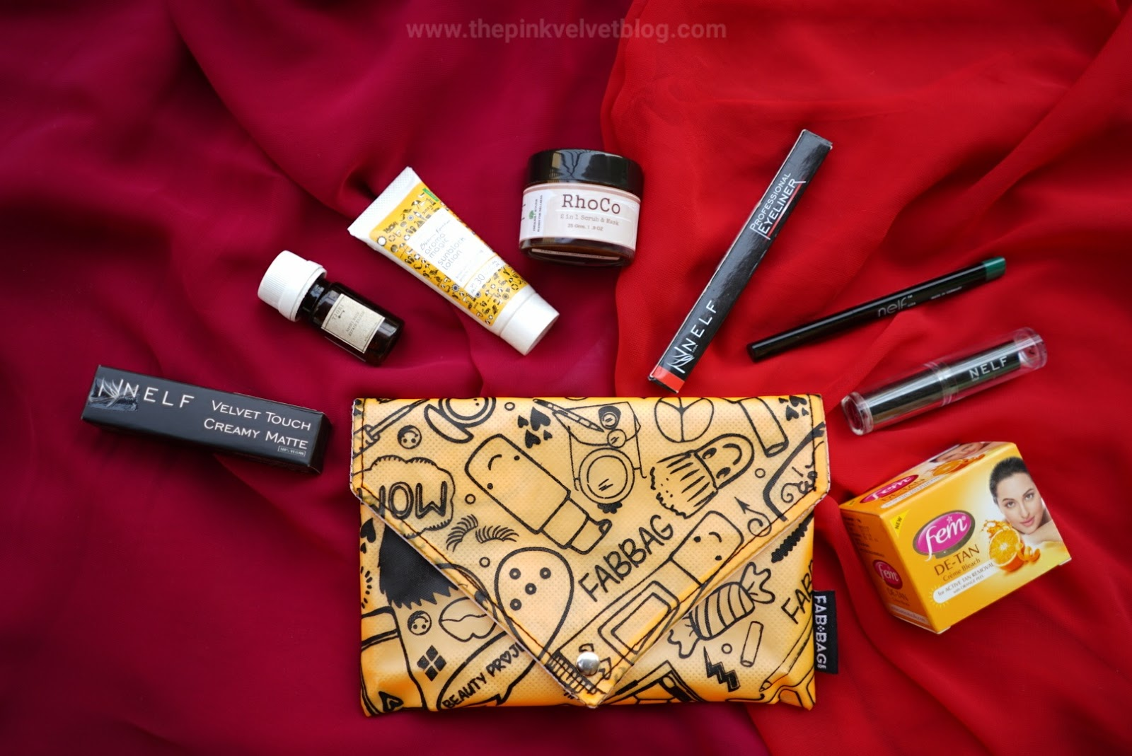 "May Fab Bag ""The Beauty Project"" - The Pink Velvet Blog"