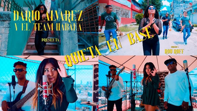Dario Álvarez y el Team Havana - ¨Quieta en base¨ - Videoclip - Dir: Rou Roff. Portal Del Vídeo Clip Cubano. Música popular bailable cubana. Cuba.