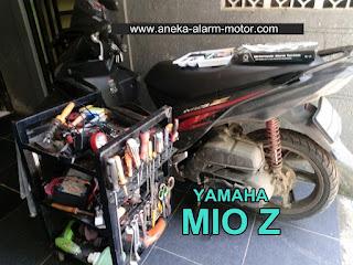 Cara pasang alarm motor Mio Z