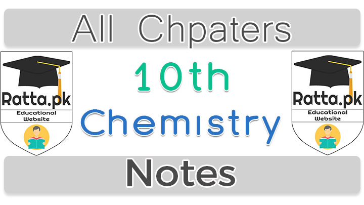 10th Class Chemistry Notes All Chapters