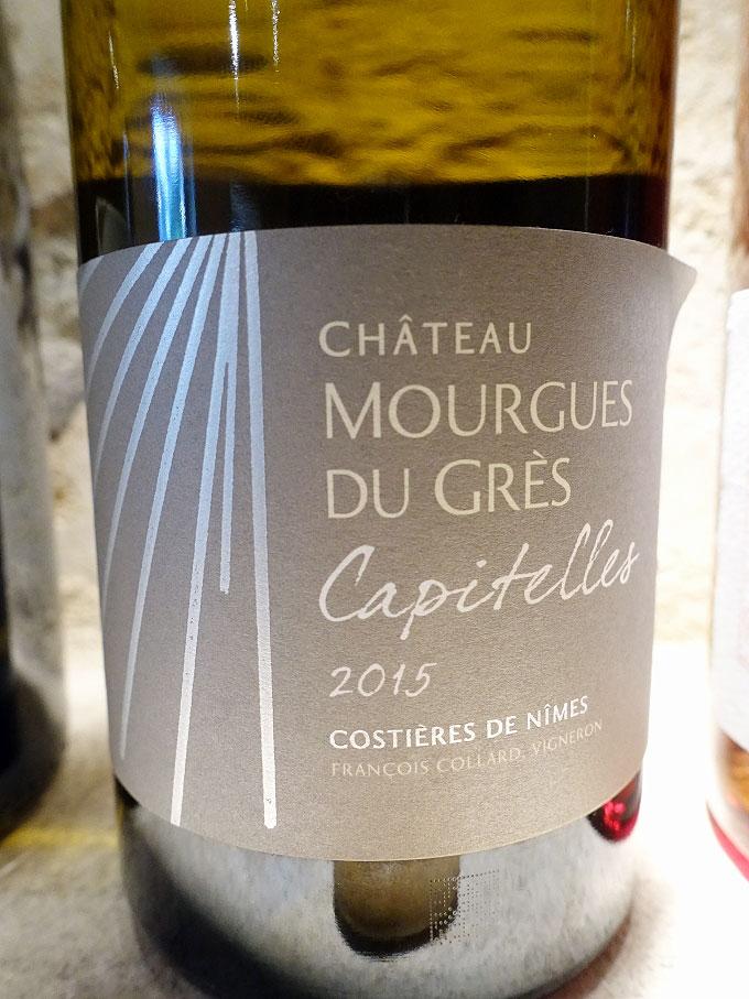 Château Mourgues du Grès Capitelles Blanc 2015 (89 pts)