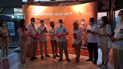 SUPER AIR JET Terbang Perdana ke Destinasi SUPER Favorit: Medan Kualanamu dan Batam