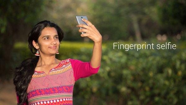Cara Foto Selfie dengan Fingerprint Xiaomi Redmi Note 3 (Pro)