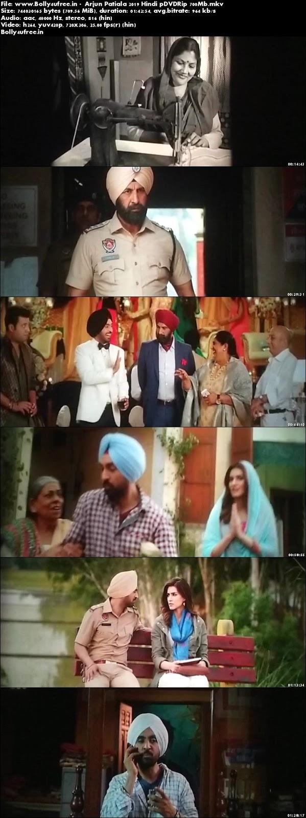 Arjun Patiala 2019 Hindi pDVDRip 700Mb x264 Bolly4ufree.in