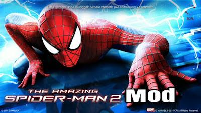 Akhirnya nemu juga file game The Amazing Spiderman  The Amazing Spiderman mod apk + obb