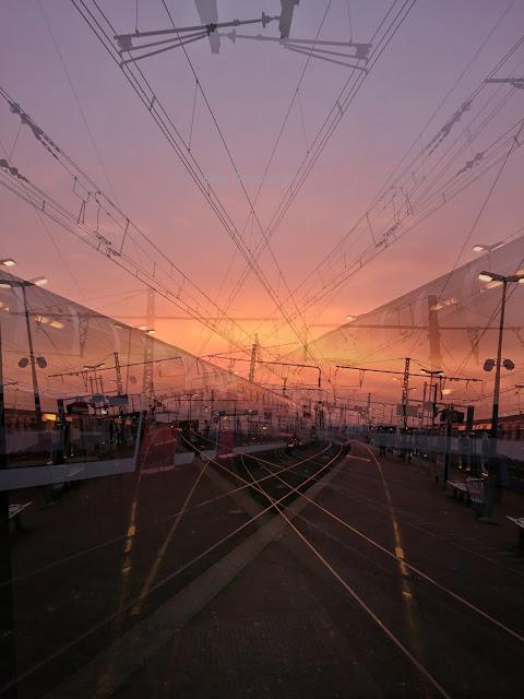 """""""Au train où va la vie"""", Gare de Malun"""