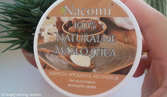 nacomi naturalne masło shea