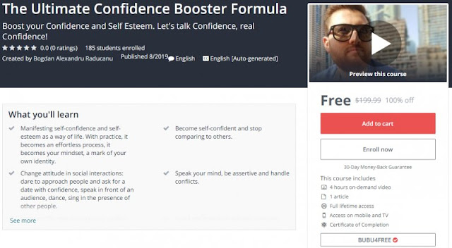 [100% Off] The Ultimate Confidence Booster Formula| Worth 199,99$