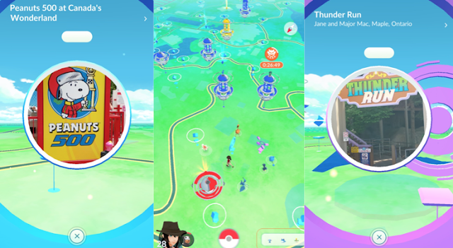 Pokemon Go at Canada's Wonderland