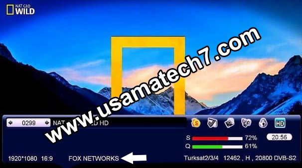 All Receivers Softcam Files for Fox Network 42E - Usama Tech7