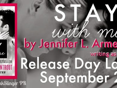 RELEASE DAY - Stay With Me by Jennifer L Armentrout writing as J Lynn  **GIVEAWAY**
