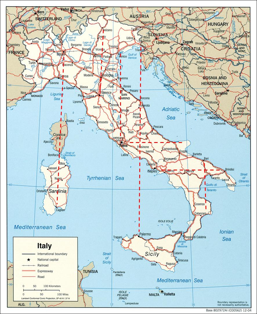 Cartina Geografica Italia Bari.Zibaldone Scientifico 78 Geografia