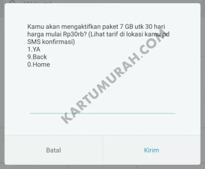 Promo Paket Telkomsel 7GB 30 Ribu Terakhir 2017